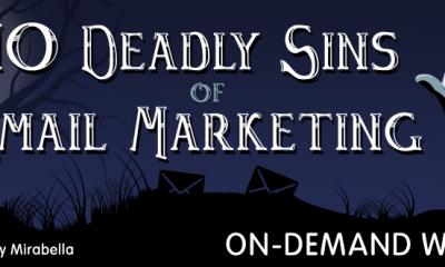 10 Deadly Sins of Email Marketing-on-demand webinar-pinpointe