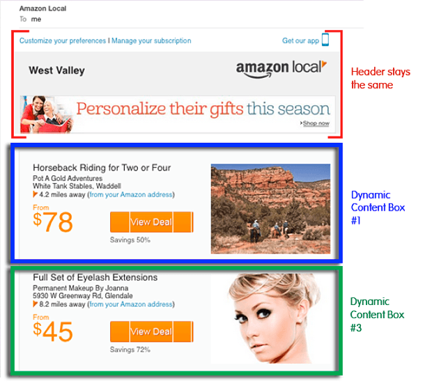 Amazon-Sample-2-dynamic-content-pinpointe