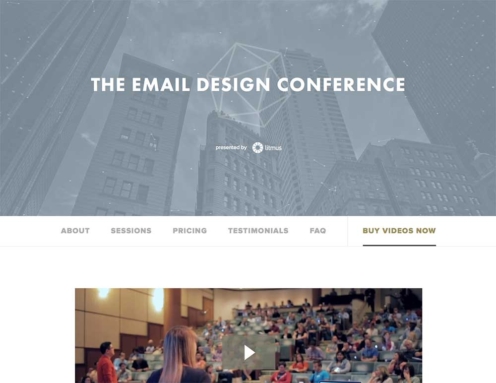 Amazing email design presentations