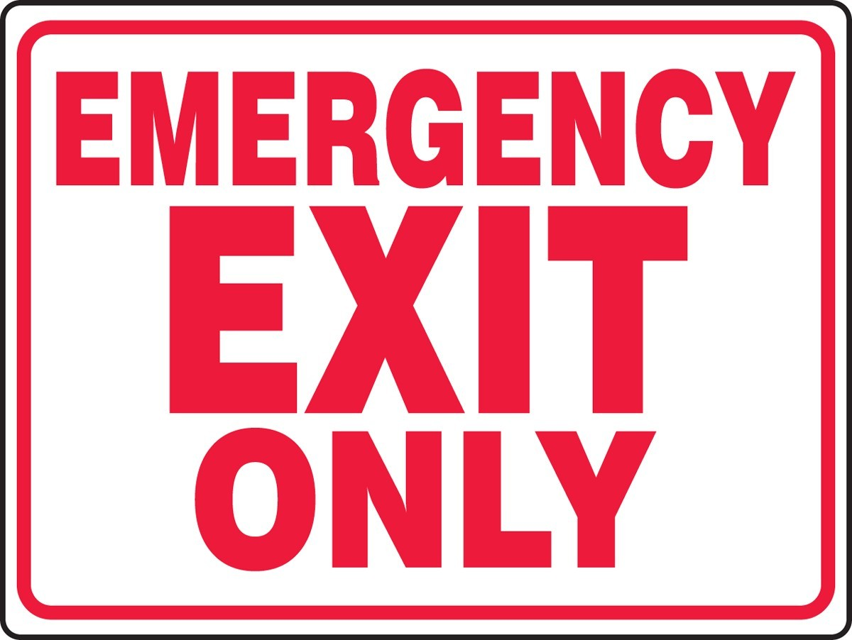 UX Design Emergency Exit