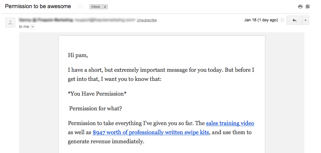Many autoresponders are HTML emails made to look like text emails