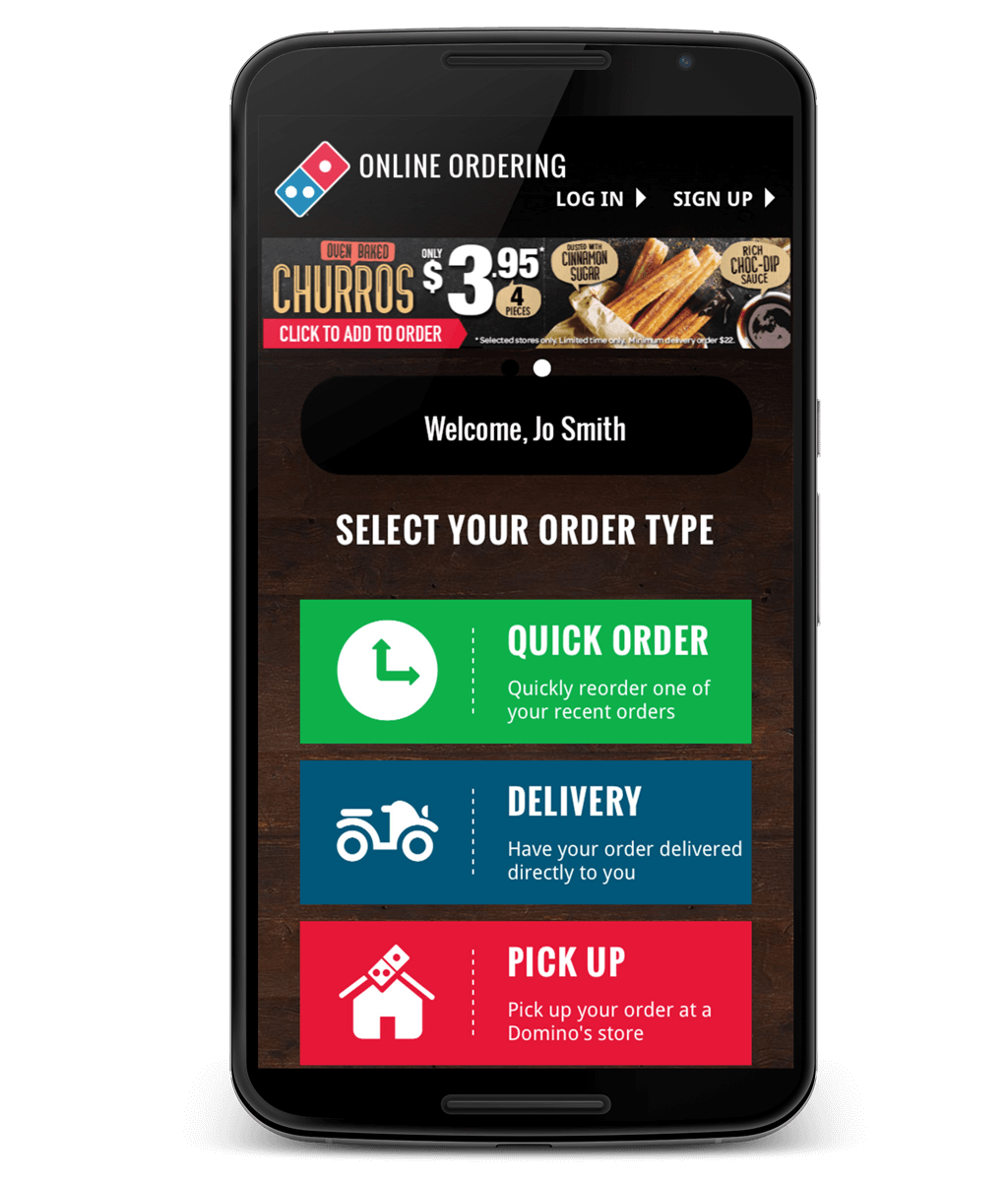 UX Design Domino's