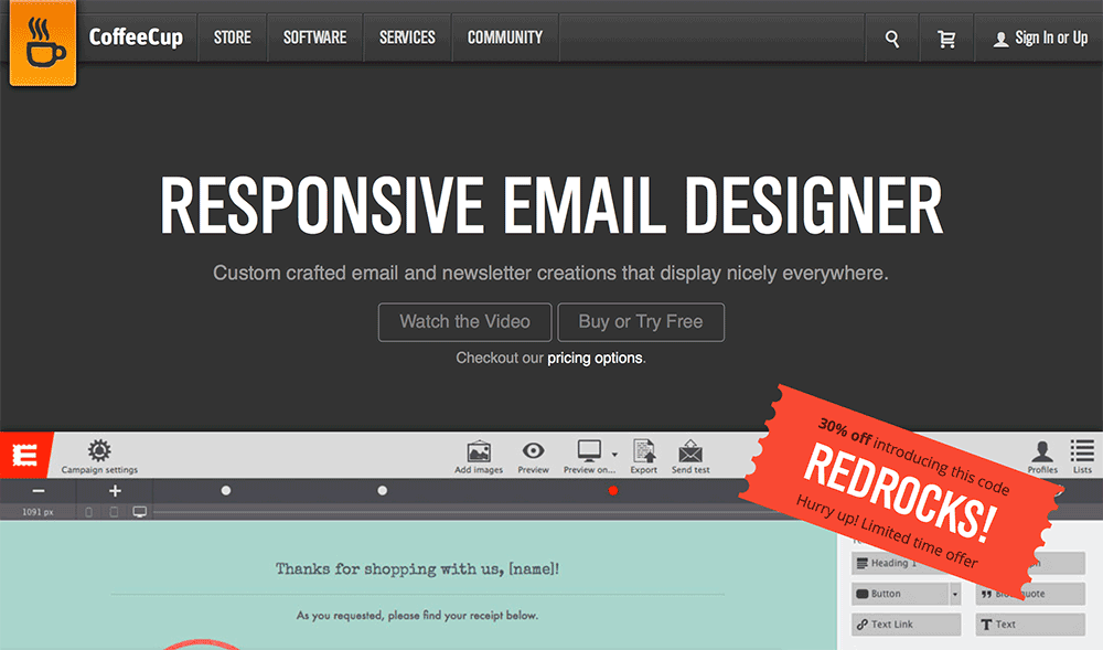 Design your own responsive emails