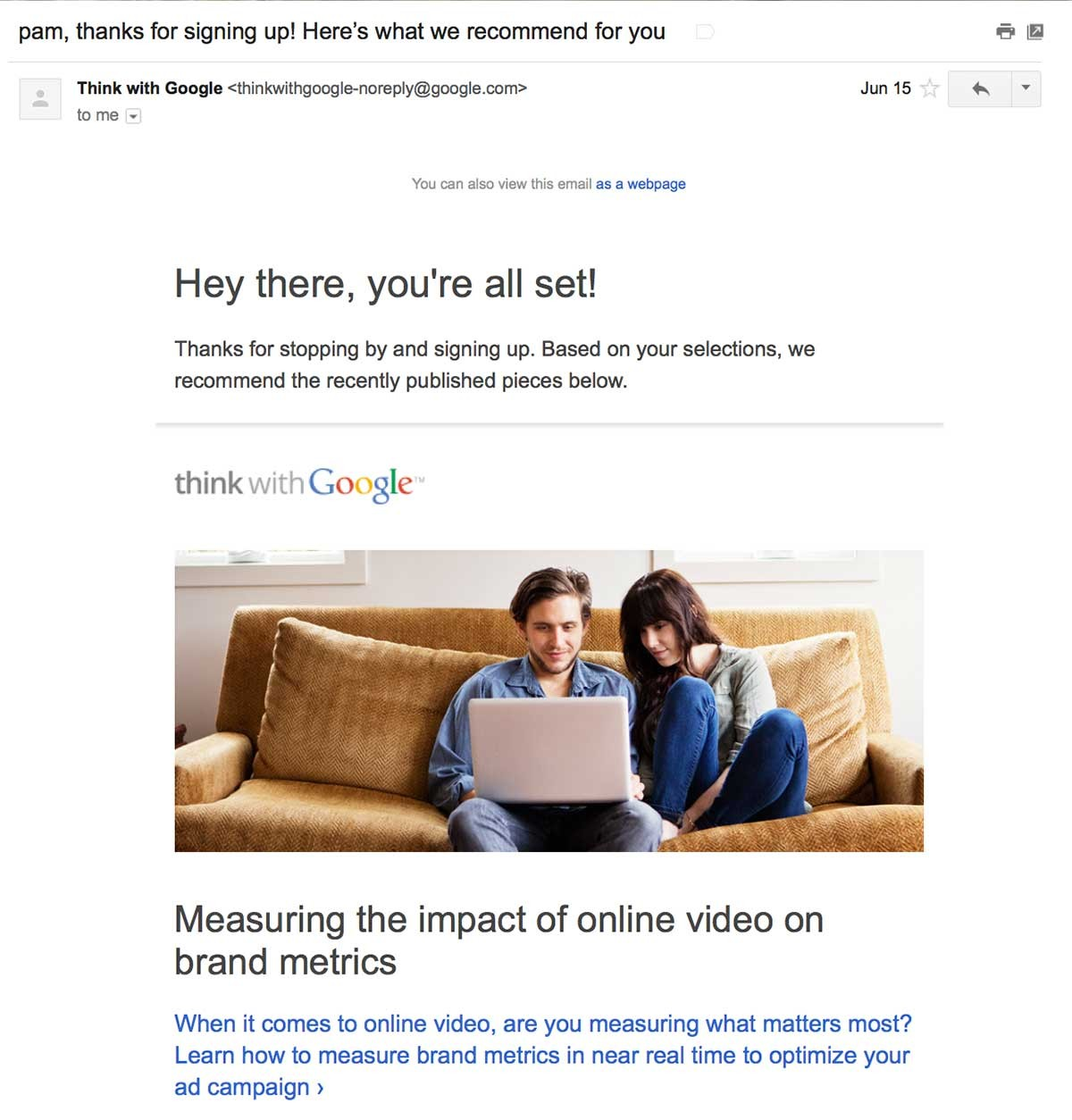 ThinkWithGoogleWelcome-b2b welcome emails