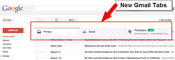 How gmail tabs impacts email marketing