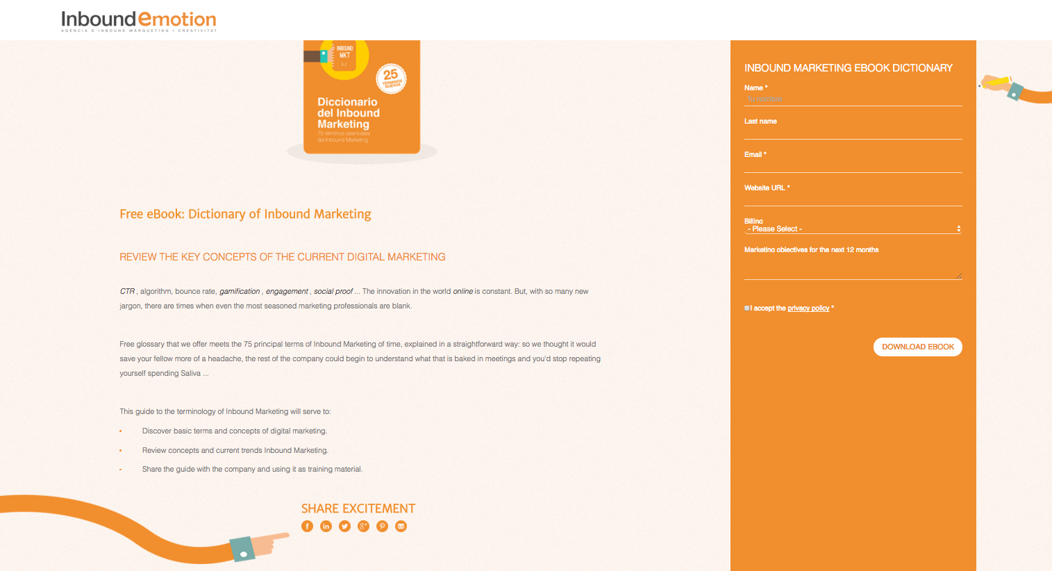 landing page conversion example 1