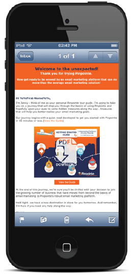 obile-email-marketing-pinpointe