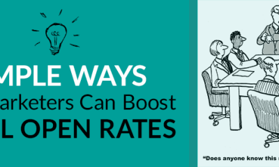 simple ways b2b email marketers can boost open rates