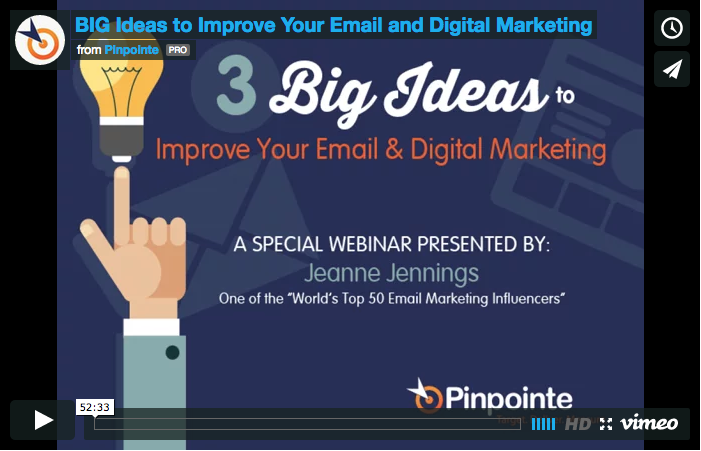 watch big ideas in marketing webinar