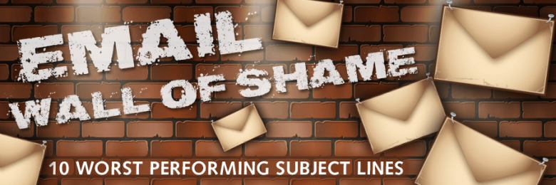10 Worst Performing Email Subject Lines