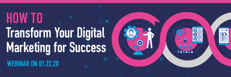 Digital Marketing Transformation webinar