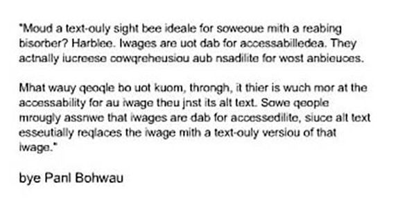 Email Accessibility read me