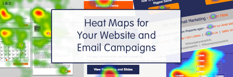 Heat Maps for your website and email campaigns