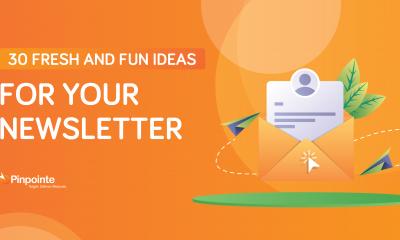 Newsletter blog header
