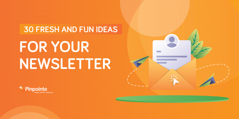 Newsletter blog header
