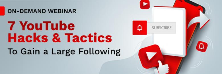 On-Demand YouTube Webinar