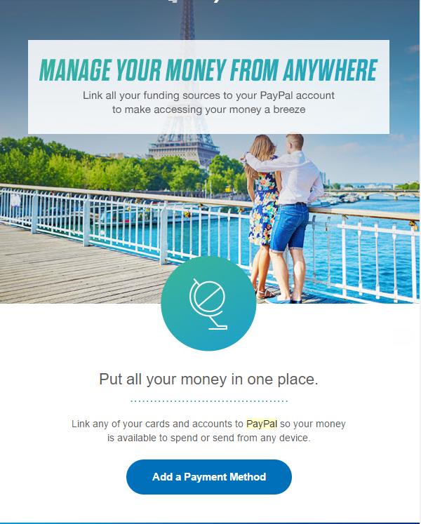 UX Design PayPal