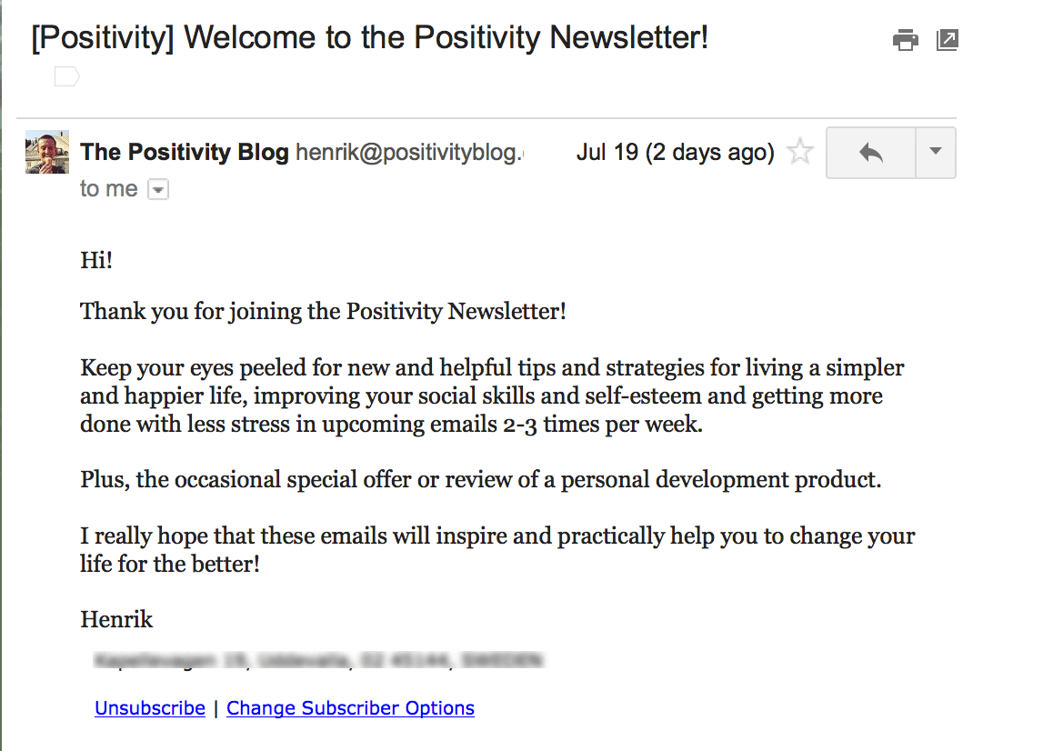 PositivityBlogThankYouWelcome-b2b welcome emails