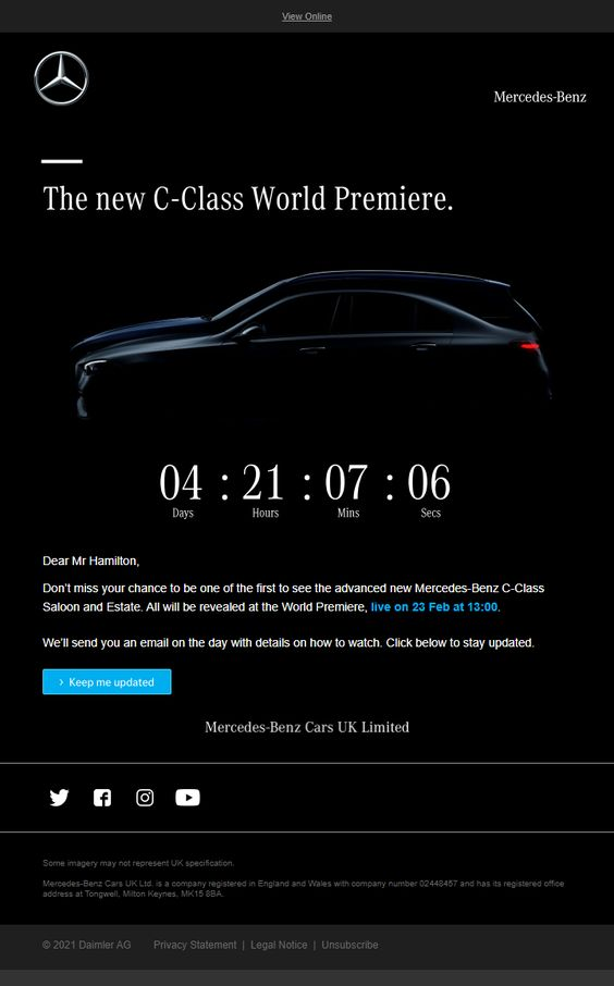 Reveal a new product.