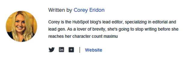 author-profile-example-Optimizing-Online-Content