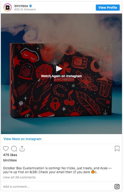 birchbox-Social Media-Email Marketing-Grow-Audience
