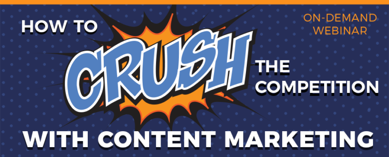 content marketing-on-demand webinar