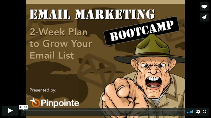 email marketing bootcamp-video