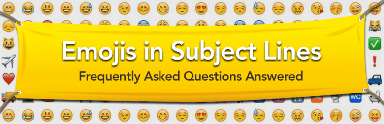 emojis in email marketing subject lines
