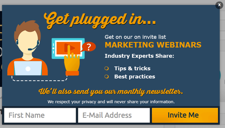 gated content webinars