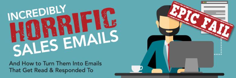 horrific sales emails follow-up sales emails