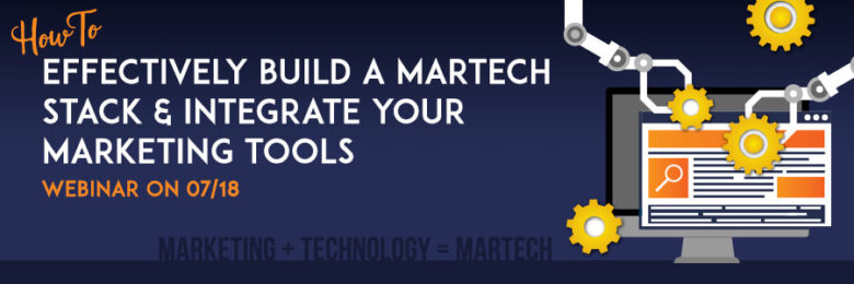 how to build a Martech Stack-webinar