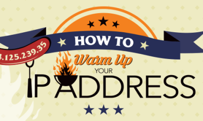 how to warm up an ip address