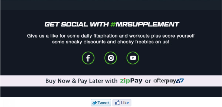 mr-supplement-Social Media-Email Marketing-Grow-Audience