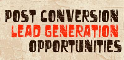 post conversion b2b lead generation