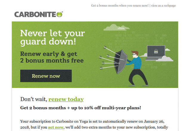 re-engagement campaigns-upsell-email-examples-carbonite