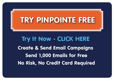 try email marketing for free pinpointe
