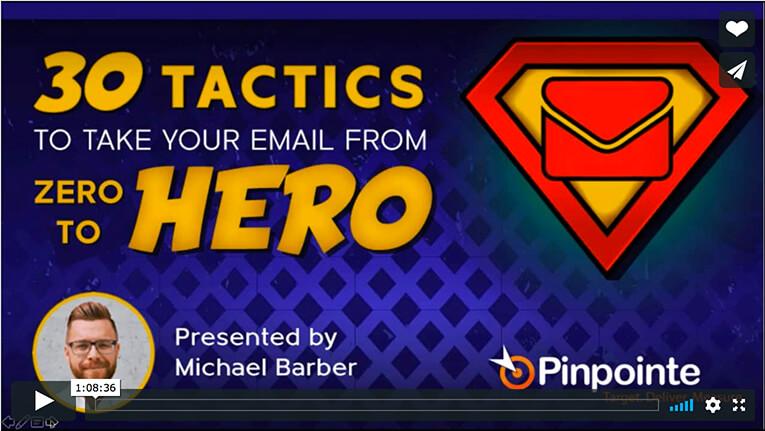 view-30 email tactics webinar