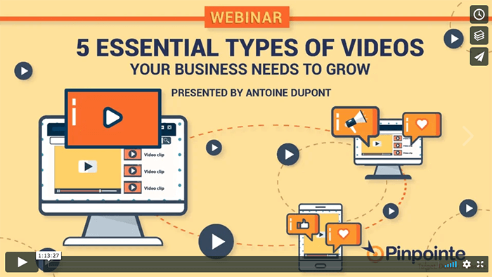 view-5 types of marketing videos