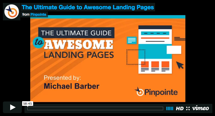 webinar-The Ultimate Guide to Landing Pages