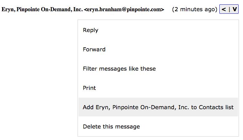 whitelisting gmail