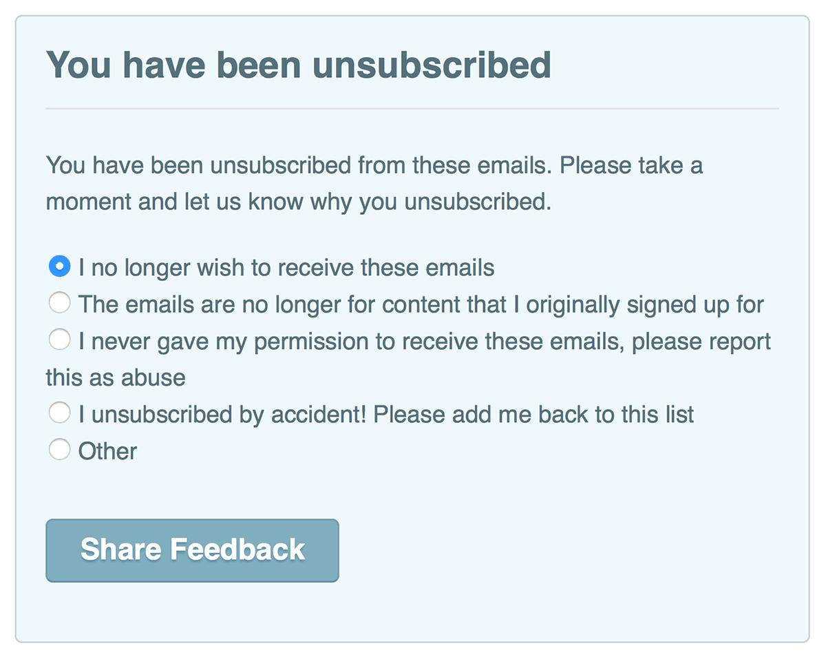 why-people unsubscribe-ExitSurvey_Marketizator