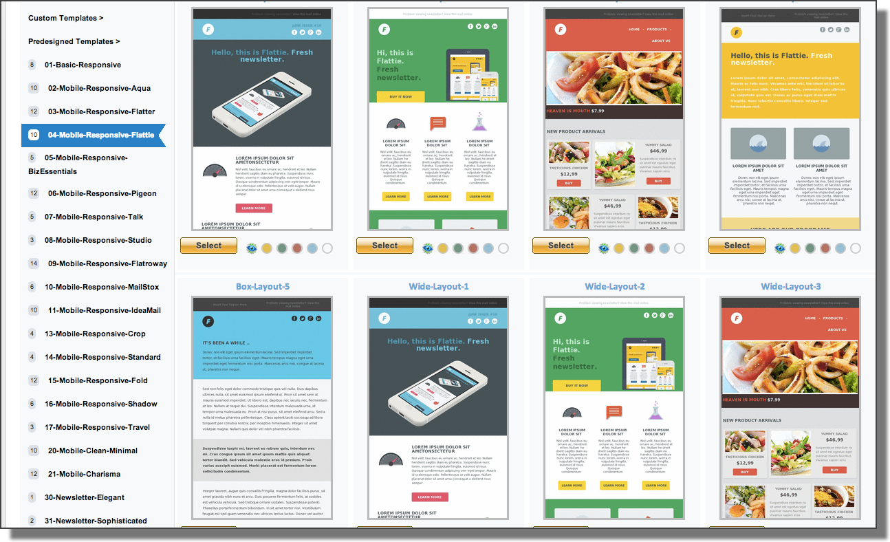 Opt in email marketing for enterprises and agencies for Cool mailchimp templates